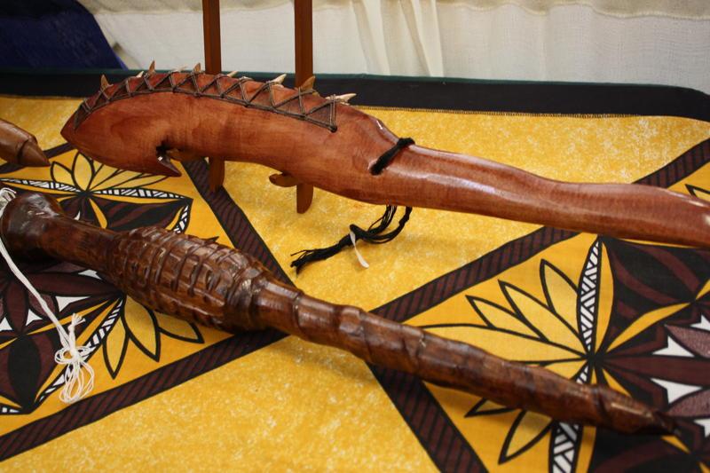 Polynesian War Clubs