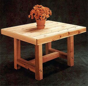 Patio Table | Free Woodworking Project Plans