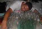 Baring atas botol