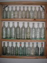 SHELF WITH BOTTLES