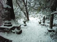鳳来寺手前の脇道