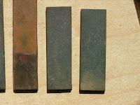 銅箔の金メッキ1