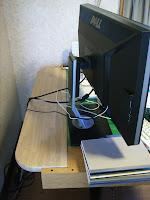 U2711用に机を拡張