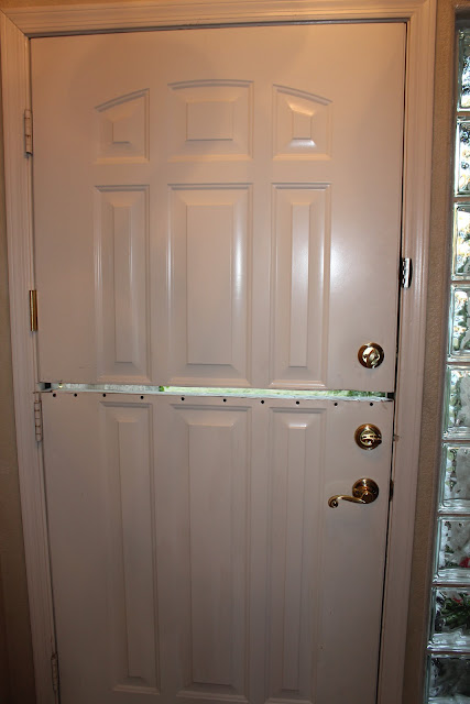 how to make a dutch door