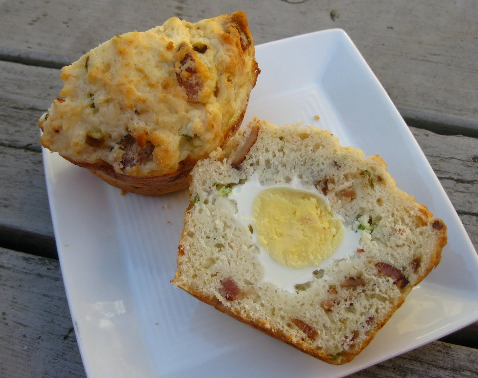 for the love of sunday: bacon and egg muffins