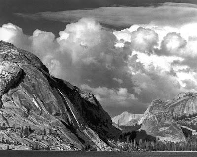 ansel adams photography style. Lake Tenaya, 1946, Ansel Adams