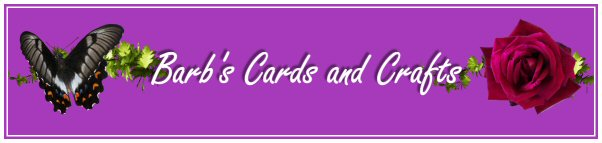 Barb's Cards and Crafts