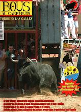 PORTADA DE LA REVISTA BOUS AL CARRER