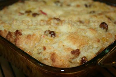 Old Fashioned Bread Pudding No Raisins