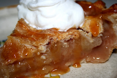 Old Fashioned Apple Pie - made with mixed apples and jam and pictured ...