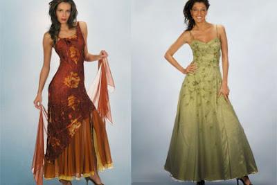 Boda algo mas vestidos para damas de honor y madrinas for Boda en jardin como vestir