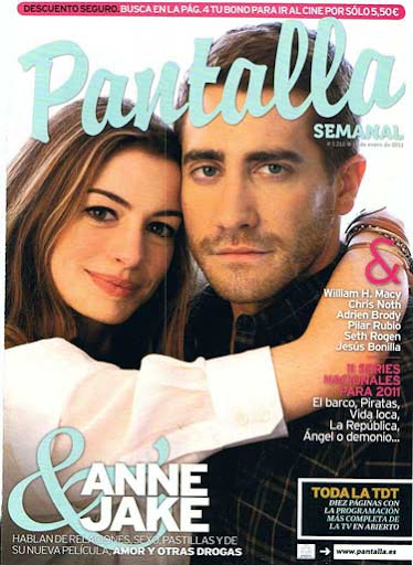 Jake Gyllenhaal And Anne Hathaway Ew Magazine. Jake Gyllenhaal and Anne
