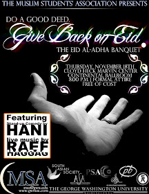 GWU Eid Banquet
