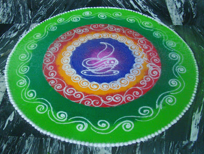Diwali Rangoli Designs Flower Patterns Myspace Hi5