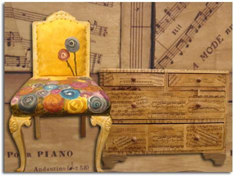 Soeurs demaria demaria retail objetos de decoraci n for Reciclado de muebles de madera antiguos