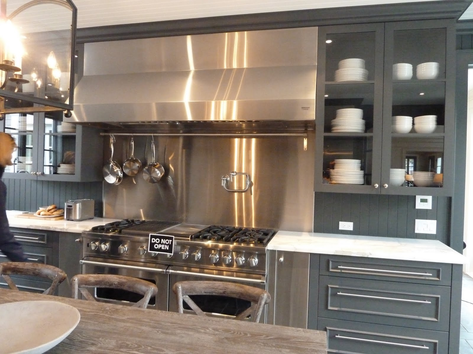 Install Above-Range Convection Oven and Cabinet : Rooms : Home