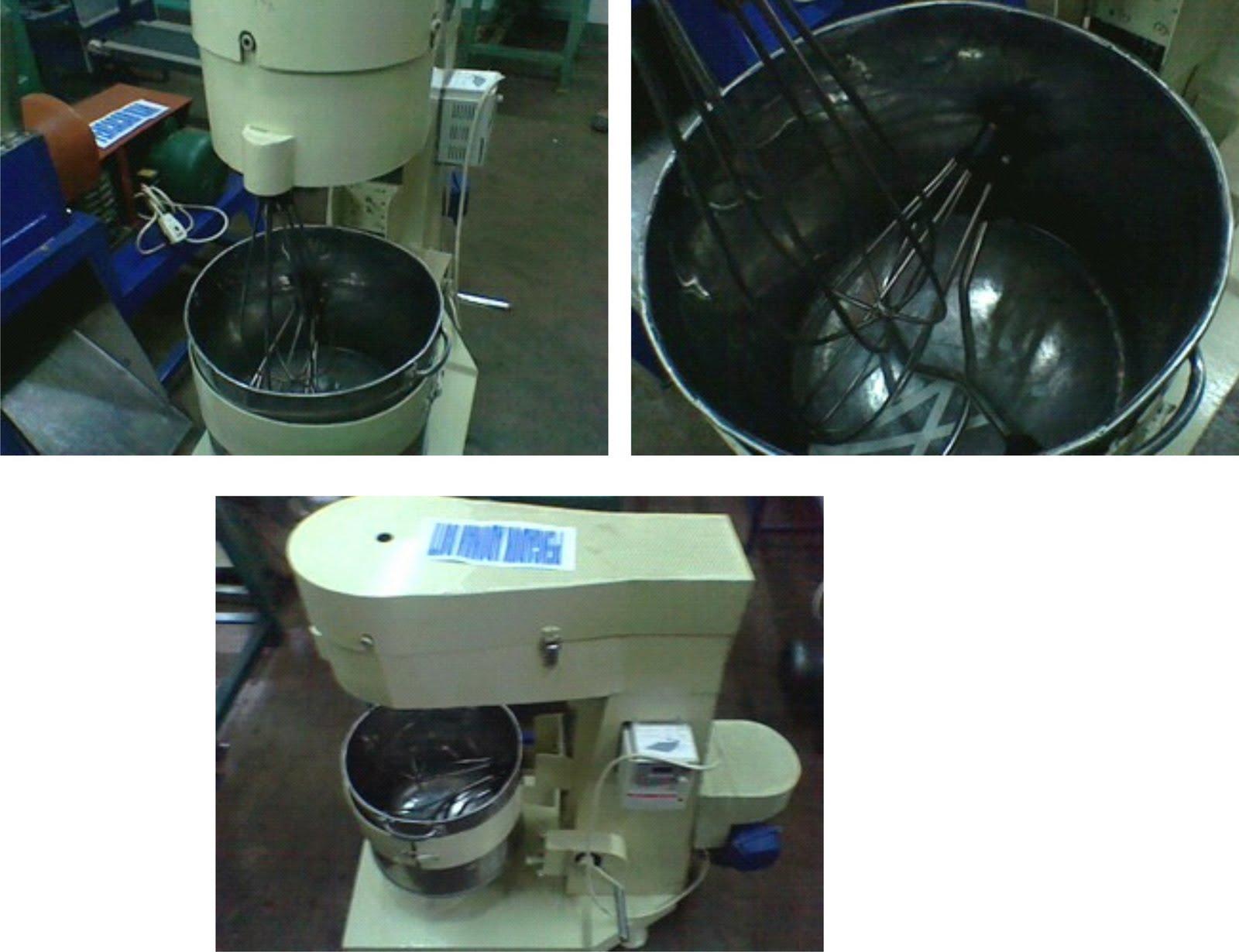 Mesin mixer Adonan Kue