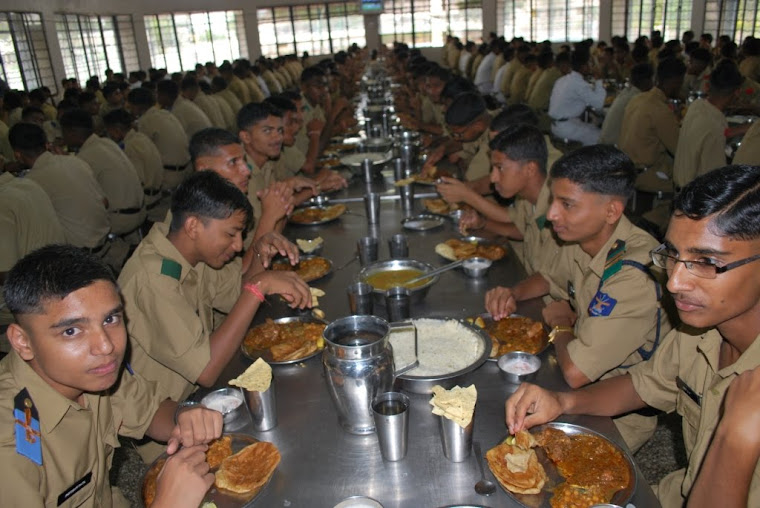 Cadets in the Mess -Adilshahi Table