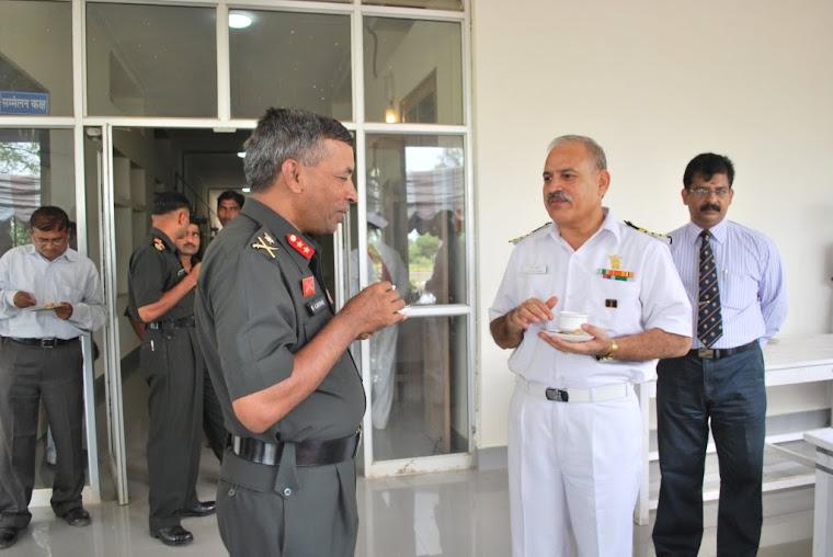 Maj Gen VSS Goudar  -over a cup of tea