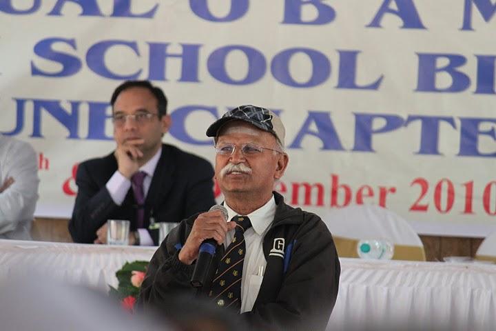 Mr.U Velu addressing