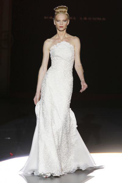 Vestidos de novia con falda lapiz