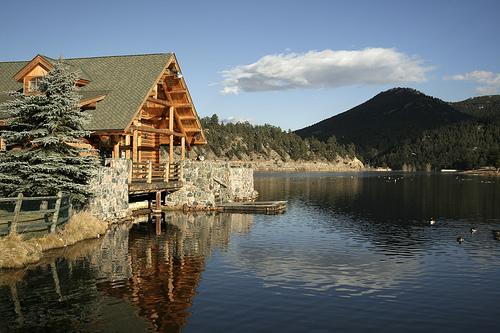 Life at 8 300 39 evergreen colorado for Colorado mountain houses