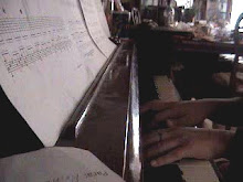 Sara's hands...piano's fingers..