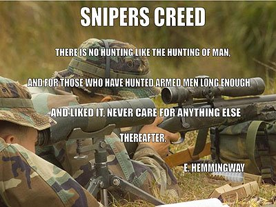 Us Army Sniper Quotes. QuotesGram