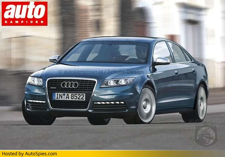 economy like a modest four-cylinder unit - Audi presents the Audi A8