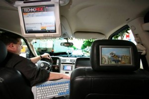 Car Satellite Tv Antenna In Your Cars