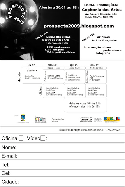 FICHA de INSCRIÇÃO ~ Faça Dowload, Imprima, Preencha e Entregue à FUNCARTE!