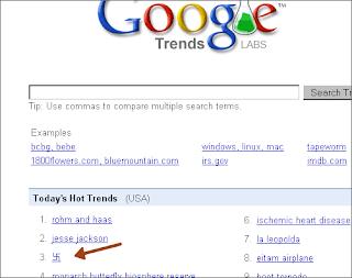 свастика и Google Trends