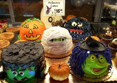 Торты к Хеллоуину