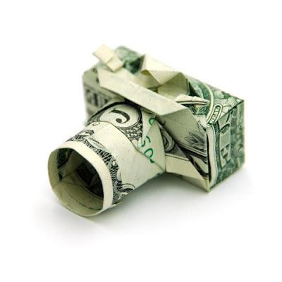 Фото Оригами из долларов. Прикольные фотографии оригами