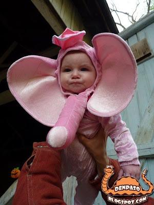 новогодние костюмы 2011 - слоник