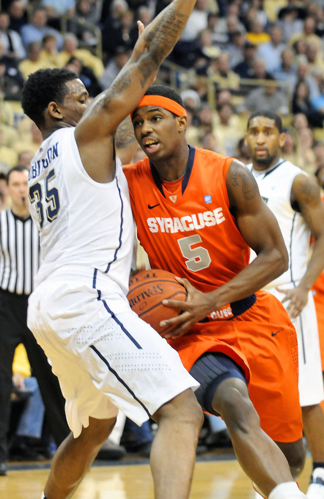 The Cuse Connection: Pittsburgh Hands Syracuse First Loss ...