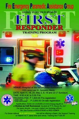 First Responder Training Program Batch 13