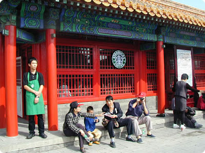 Starbucks Forbidden in the Forbidden City – A city which has lost itself in its heritage preservation