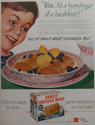 vintage shredded wheat ad