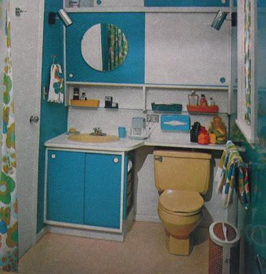 Art skool damage christian montone designs for living for Bathroom remodel 1960s