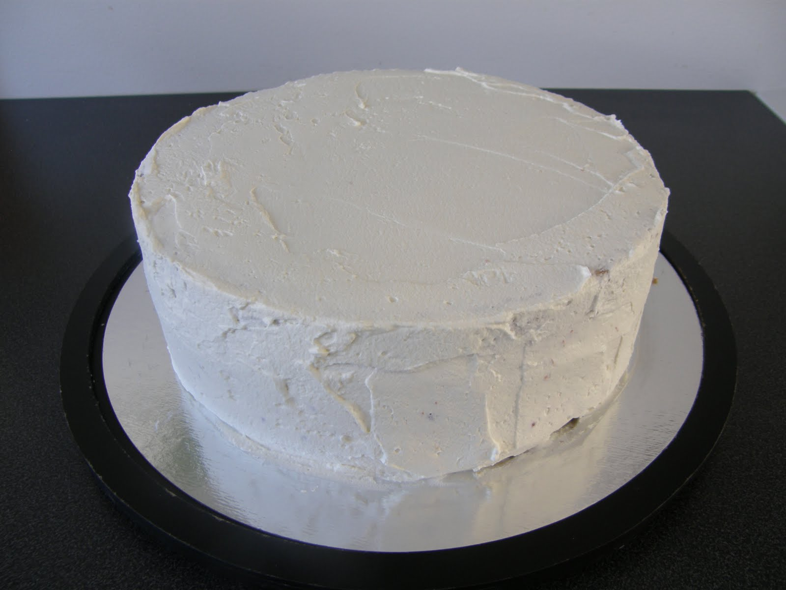 vispgrädde till tårta