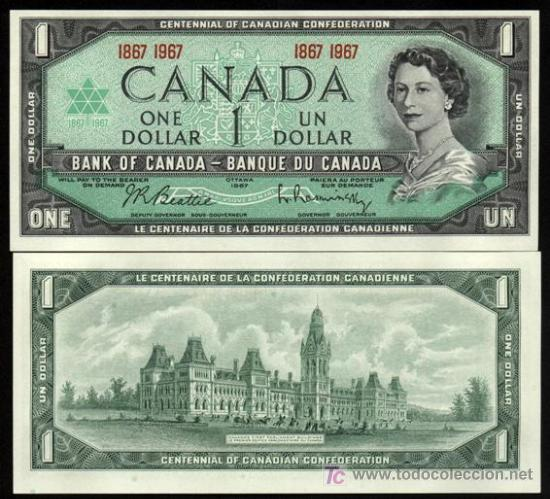 1 DOLLAR CANADIENCE