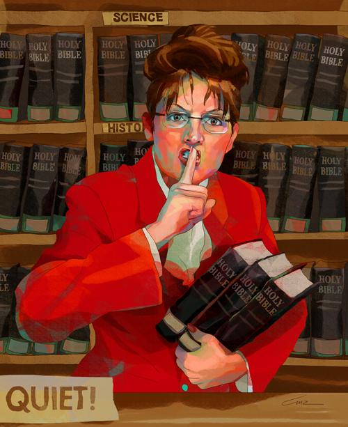 Sarah Palin strikes back at Barbara Bush