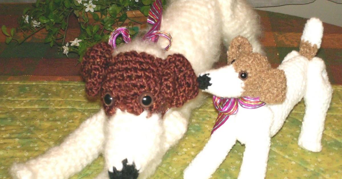 Crochet Pattern Jack Russell Dog : Amazing Greys Crochet: New! Jack Russell Terrier Dog ...