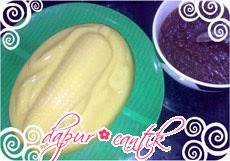 puding jagung saus kelapa dapur cantik
