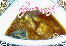ikan sarden masak merah
