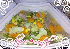 tumis sayur campur dapur cantik
