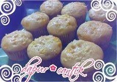 muffin keju jagung dapur cantik