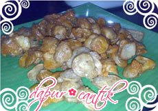 jamur crispy dapur cantik