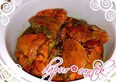 kepiting saus tiram dapur cantik